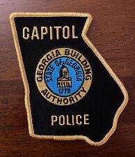 Georgia Capital Police Patch - Building Authority - Georgia State
