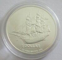 Cook-Inseln 1 Dollar 2014 Bounty 1 Oz Silber