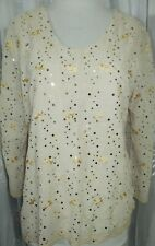 NEW Printed chiffon tunic top blouse - Printed  kurta size  L 42