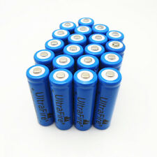 20pcs UltraFire 14500 AA 1200mAh 3.7V Rechargeable li-ion Battery For flashlight
