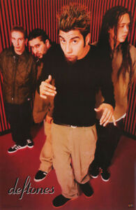 POSTER : MUSIC: DEFTONES  - ALL 4 POSED  -  FREE SHIPPING !   #6175    RC14 B