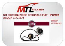 KIT DISTRIBUZIONE ORIGINALE FIAT + POMPA ACQUA 71771579 FIAT CROMA