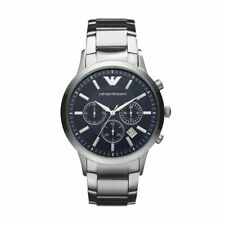 EMPORIO ARMANI MENS BLUE DIAL STAINLESS STEEL DATE CHRONOGRAPH MENS WATCH AR2448