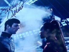 ZACHARY QUINTO SPOCK AUTOGRAPHED STAR TREK 8x10 Framed Photograph