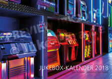 *** Jukebox-calendario 2018-Dina 3-Wurlitzer-ami-ROCK - OLA-Seeburg-Mills