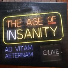 C:Live Collective – The Age of Insanity 2018 CD NEW  TWELFTH NIGHT CLIVE MITTEN