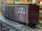 HO Scale Athearn 40' BoxCar SCL SEABOARD COAST LINE professionally weathered