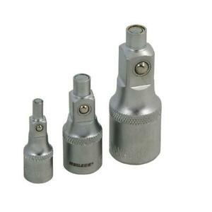 """MAGNETIC SOCKET EXTENSION BAR ADAPTOR SET by NEILSEN TOOLS 1/4"""" 3/8"""" 1/2"""" Drive"""