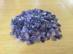 Amethyst Crystal 3-10 mm Chips 50 grams to 500 grams High grade Reiki Cleansed