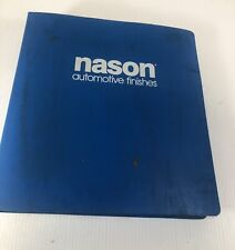 Nason Automotive Finishes 1988-1994 Domestic and Import Paint Chip Binder