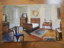 Old Antique 1912 Postcard James Scully House Furnisher Mancheseter New Hampshire