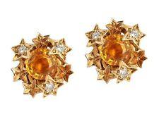 Cluster Gemstone Fine Earrings