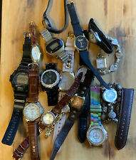 1.4lb Mixed Watch Lot For Repair/Parts ~ 16 watches LOT#2
