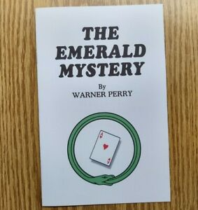 The Emerald Mystery by Warner Perry (Top-notch card effect)