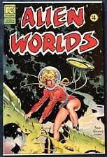 Alien Worlds #4  Sept 1983  Pacific Comics  Dave Stevens Cover