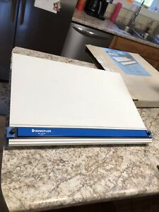 Preowned Vintage Staedtler Mars Parallel Straightedge Drawing Board, 999 1824DB