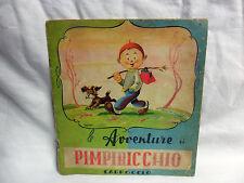 LE AVVENTURE DI PIMPIRICCHIO Carroccio Editore Libro Fiaba Racconto Fumetto