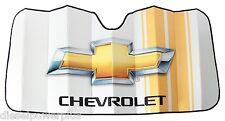 chevy chevrolet duramax car sun shade protector truck logo windshield window new