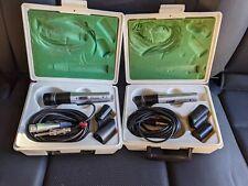 Pair of Shure PE45D Unidyne III Microphones