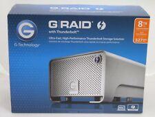 G-Tech 0G02272 8TB G-RAID External Hard Drive Array with Thunderbolt 2