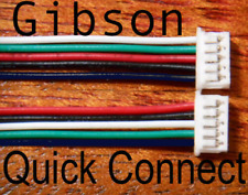 2 Quick Connect adapters for Gibsoncontrol board pcb pickup wire connector plug