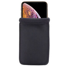 Black Neoprene Soft Sleeve Bag Pouch Case Cover for iPhone 11 Pro Max