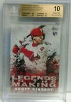Scott Kingery 2018 Topps Update Legends in the Making RC BGS 10 Pristine hot rc