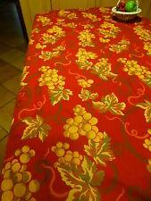 3m,20x1,3O,beau tissus épais pour nappe ou futur rideau ,reversible