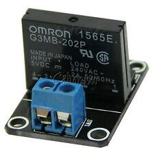 5V 1 CH OMRON SSR G3MB-202P Solid Relay Module with Resistive Fuse For Arduino