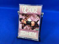 Choice – Stick-N-Moove Move | Cassette Tape Album 1992 Rap A Lot Texas RARE OOP