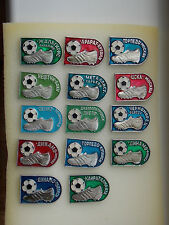Soviet Russian Different Football Clubs Badges