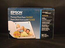 Epson Prem. Photo Glossy Paper 4x6 (100 Sheets) S041727