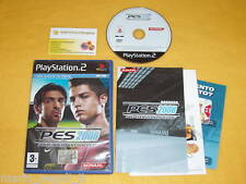 PES 8 PRO EVOLUTION SOCCER 2008 Ps2 Playstation 2 vers. ITALIANA USATO COMPLETO