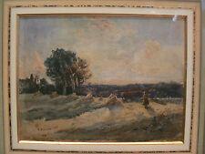 bonita acuarela robert buchan nisbet paisaje escocés campiña escocesa 1886