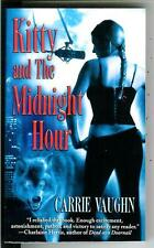 KITTY AND MIDNIGHT HOUR by Vaughan, rare US Warner horror gga pulp vintage pb