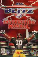 NFL Blitz - Authentic Nintendo 64 (N64) Manual