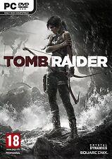 Tomb Raider PC 2013 Lara Croft XP/Vista/7/8 Brand New Sealed Survival