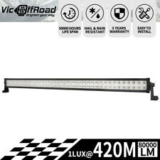 42inch Cree Led Light Bar Spot Flood Combo Beam Offroad Driving Truck 4WD