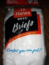 New listing New Boys Hanes Underwear Size 14 6pk