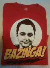 """Big Bang Theory SHELDON """"BAZINGA!"""" T-Shirt"""