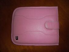 NEUF URBANO LEATHER HOLSTER ETUI EN CUIR POUR IPAD 10'' ROSE