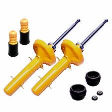 2 Premium Sport Stoßdämpfer Gas vorne Domlager INA Protektion Kit für VW Golf 4