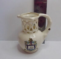 RYDE I.O.W. PUZZLE JUG miniature china vintage collectible made in England