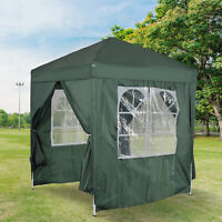 6.6x6.6ft Pop Up Gazebo Easy Folding Party Tent Marquee Pavilion Portable Garden