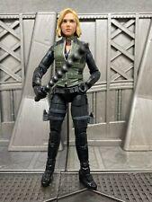 "Marvel Legends Hasbro Avengers Cull Obsidian BAF BLACK WIDOW 6"" Action Figure"