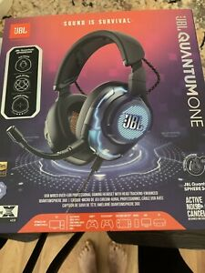 JBL Quantum ONE - Over-Ear Performance Gaming Headset with Active Noise