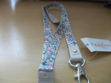 New with tags cath kidston lanyard bunny medow