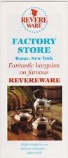 1983 Revere Ware Factory Store Rome New York Brochure