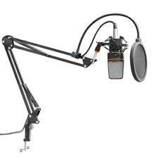 Kleine 360° Einstellbarer Mikrofon Boom Arm-Swivel Tisch Federung Stativ C2