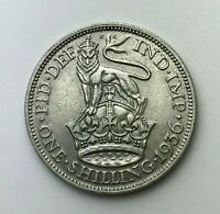 Dated : 1936 - Silver Coin - One Shilling - King George V - Great Britain